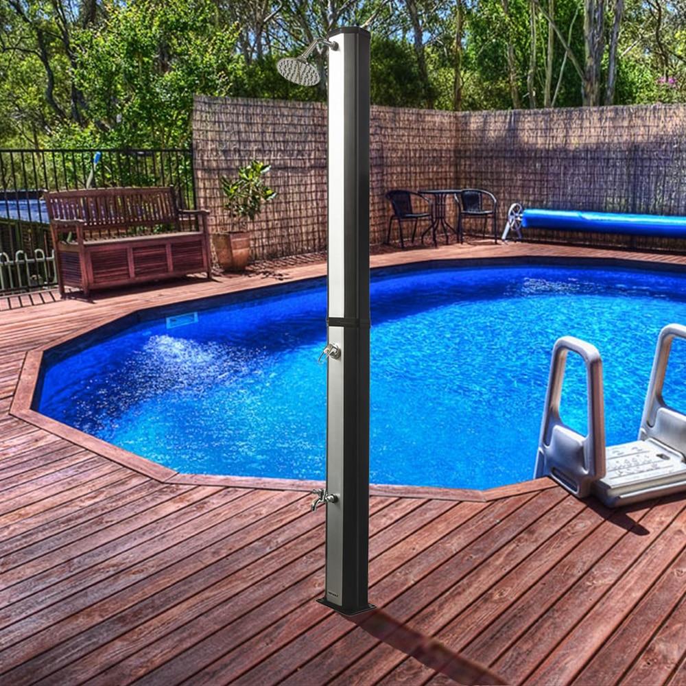 Solar shower ThorX TR35OX silver garden shower 35 L - 4