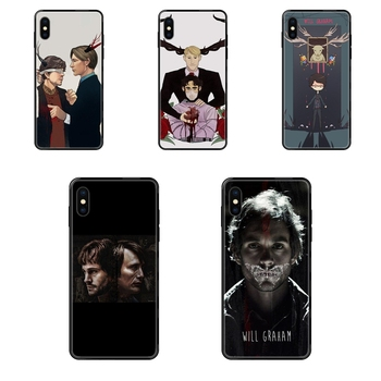 Graham Hannibal Mads Mikkelsen For Kid Black Soft Painted Cover Phone Case For Galaxy A10S A20 A20S A20E A21S A30 A30S A40 A50 image