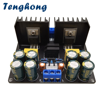 Tenghong LM1875 Two Channel 2.0 Stereo Sound Amplifier Board 18W*2 Speaker Home Theater Amplificador Power Audio Amplifier Board sound speaker switcher amplifier audio converter for 1 amplifier 2 speaker or 2 amplifier 1 speaker