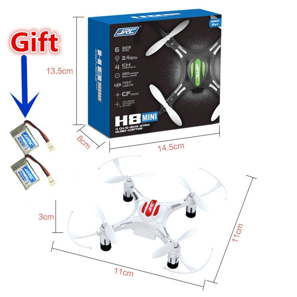 Mini Drone JJRC H8 RC Helicopterr 2.4G 4CH 6 Axle Headless Mode Quadrocopter One Key Return RC Quadcopte Parts VS H36 H20
