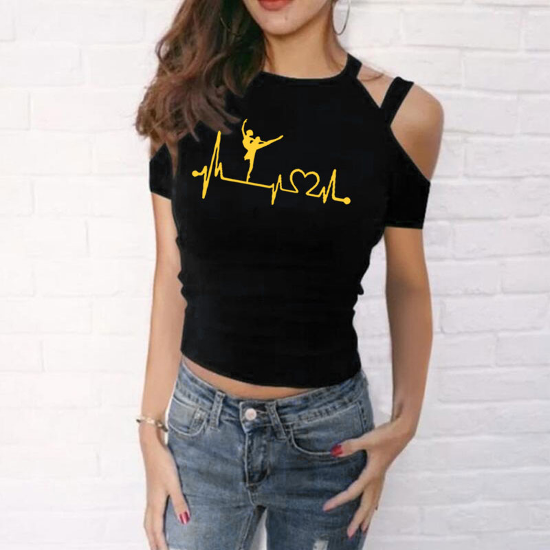 Women T-Shirt Cotton Short Sleeve O-Neck Funny Graphic Solid Tops Streetwear Hipster