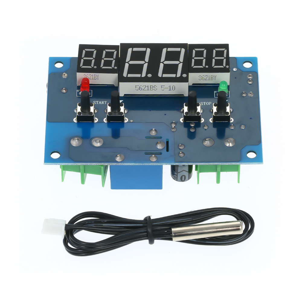 1401 DC12V Digital Display Thermostat Intelligent Temperature Controller Thermometer Control With NTC Senso