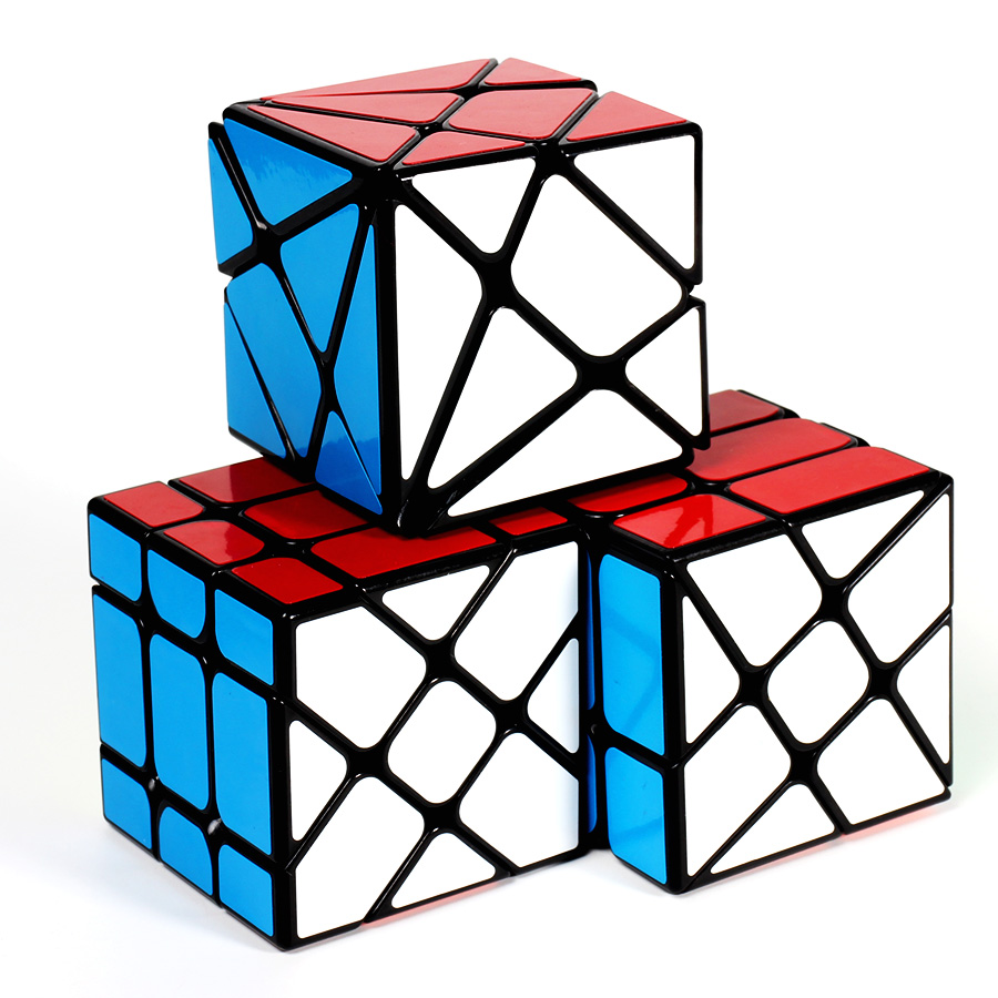 Yongjun 3x3x3 Cube Axis Fisher Windmill  Cube Stickerless Strange Magic Cubes Professional Specail Puzzle Toys For Children