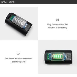 Image 2 - Indicatore di Capacità della batteria Per DJI Mavic Mini di Potenza Della Batteria con Display A LED per il DJI Mavic Mini Supporto 4 Livello di Potenza display