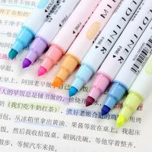 12 шт/компл маркерная ручка двойная головка творческий маркер