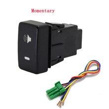 1PC Recorder Monitor lautsprecher Radar Einparkhilfe Vorne Nebel Licht Scheinwerfer Schalter Taste Für Honda Fit 08 11