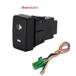 Image 1 - 1PC Recorder Monitor lautsprecher Radar Einparkhilfe Vorne Nebel Licht Scheinwerfer Schalter Taste Für Honda Fit 08 11