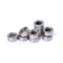 10Pcs MR105ZZ L-1050 MR105 Miniatuur Kogellagers Rubber Afgedichte Kogellagers 5x10x4mm