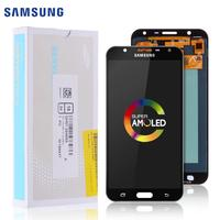 Original AMOLED LCD For Samsung J701 LCD Display J701F For Samsung Galaxy J7 Neo LCD Display Touch Screen Assembly Replacement
