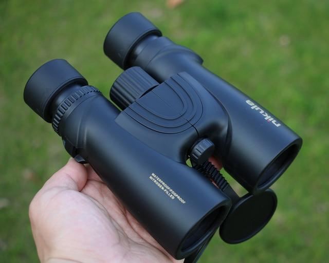 Nuevos prismáticos Nikula 10X42 nuevo telescopio profesional resistente al agua de nitrógeno potente Bak4 visión nocturna caza militar compacto