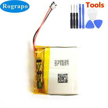 New 3.8V AHB332824HPS Battery For TomTom Spark Cardio + Music / 3 GPS Watch Acumulator 2-wire Plug+tools
