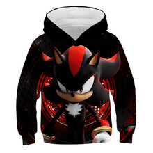 Super Cool Sweatshirts Sonic The Hedgehog Hoodie Children's Wear Baby Boys Clothes Teen Girls Tops Lovely Birthday Gifts 4-14Y