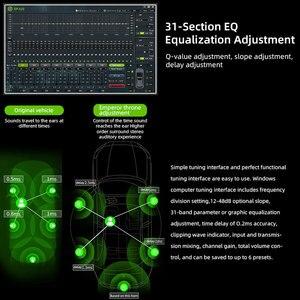 Image 3 - Sennuopu רכב DSP מגבר 8 ערוצים אקולייזר מעבד USB נגן עם LCD מרחוק בקר