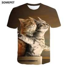 Новая крутая футболка для мужчин/женщин 3d Футболка с принтом