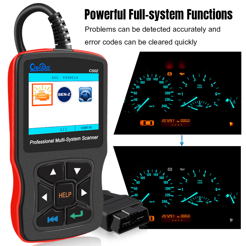 lowest price AUTOOL SDT-206 Upgraded Car Smoke Leak Detector Exhaust Smoke Meter Machines Leak Locator Automotive Diagnostic Of Pipe Systems
