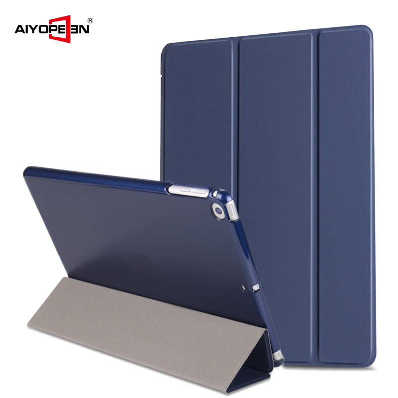 Magnetic Case for iPad 9.7 2017 2018 New A1822/A1893 Aiyopeen Smart PU Leather Funda Cover for iPad 5th 6th generation case