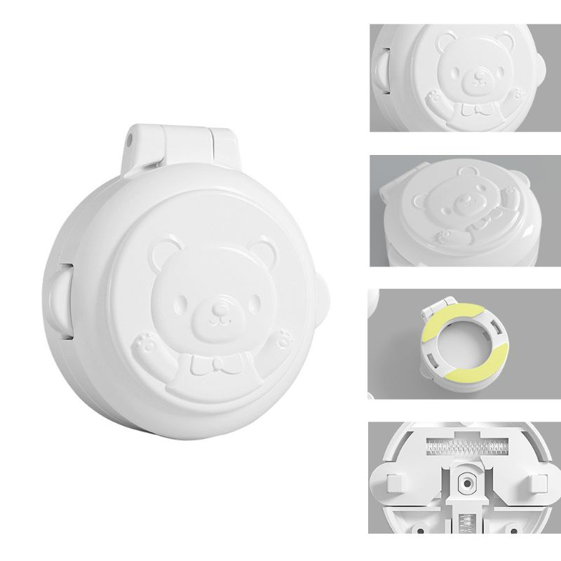 Button Security Lock Car Washing Machine Computer Key Start Protection Cover Baby Safety Prevent Pressing Device GXMB