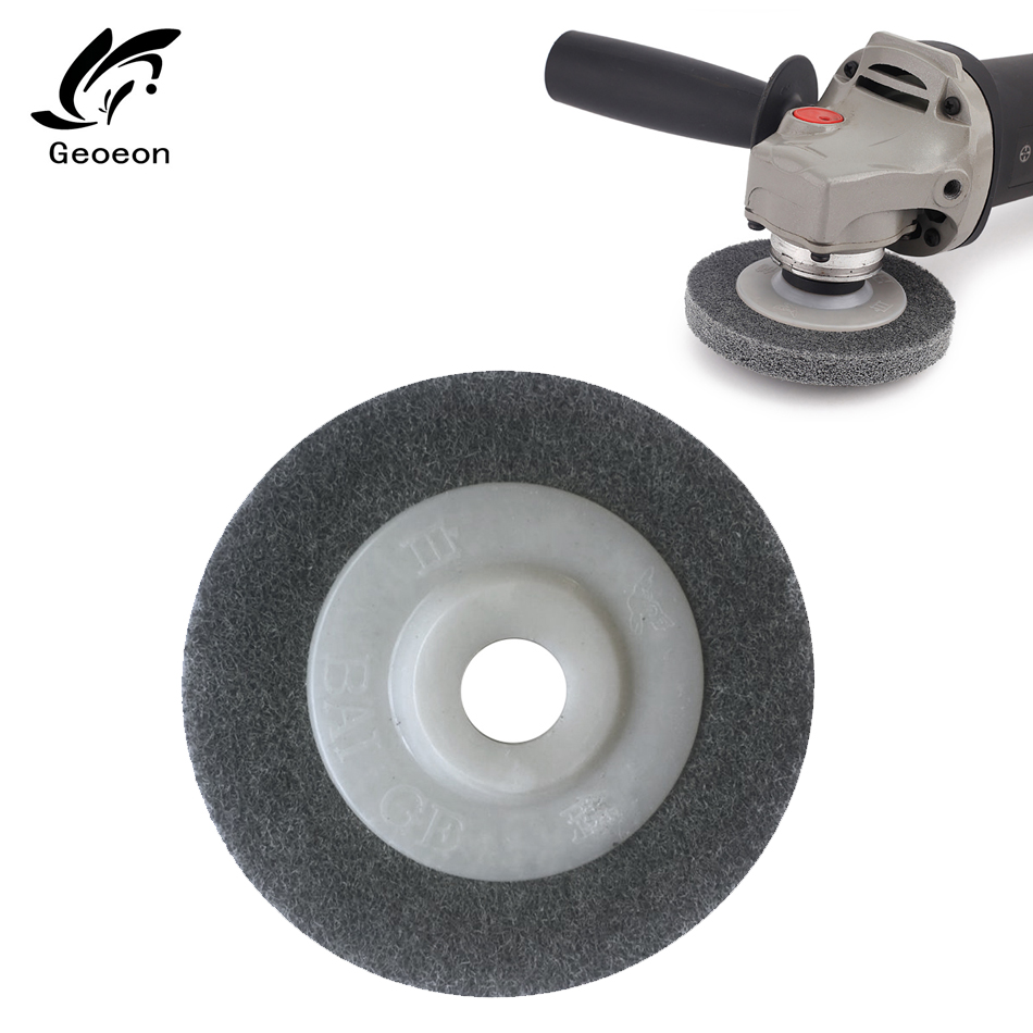 1pcs 100*16mm Nylon Fiber Polishing Whee Non Woven Abrasive Wheel Nylon Fiber Polishing Wheel Abrasive Disc A69