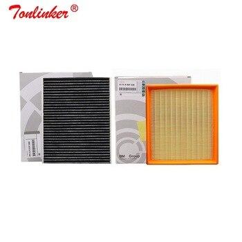Air Filter+Cabin Filter 2Pcs For Bmw F20 F21 116i 118i 125i 2010-2019/F22 F23/F30 F80 F31 F34 316i 320i 328i Model Car Filter car air filter cabin filter oil filter for brilliance h230 42809253 87139 06060 md135737