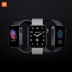 Смарт-часы Xiaomi MI, GPS, NFC, WIFI, ESIM, PhoneCall, браслет на Android, наручные часы, спортивные, Bluetooth, фитнес, пульсометр, трекер