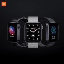 Xiaomiスマート · ウォッチgps wifi phonecallブレスレットアンドロイド腕時計スポーツbluetooth互換フィットネス心拍数モニタートラッカー