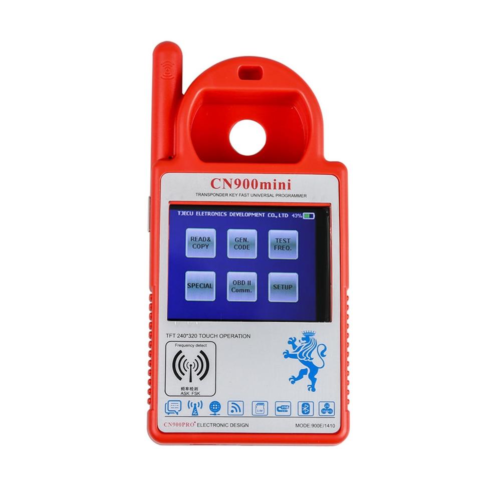 Cn900 mini programador chave do transponder suporte multi-idioma para 4c 46 4d 48 g microplaquetas