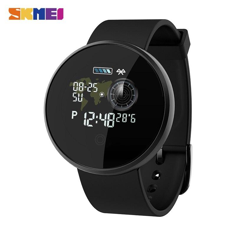 SKMEI Fashion Men's Watches Heart Rate Sleep Monitoring IP68 Waterproof Male Digital Sports Wristwatches Relogio Masculino B36M
