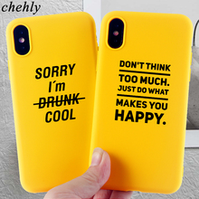Fashion words Phone Case for IPhone 6s 7 8 11 Plus Pro X XS Max XR Funny Cases Soft Silicone Fitted TPU Back Accessories Covers