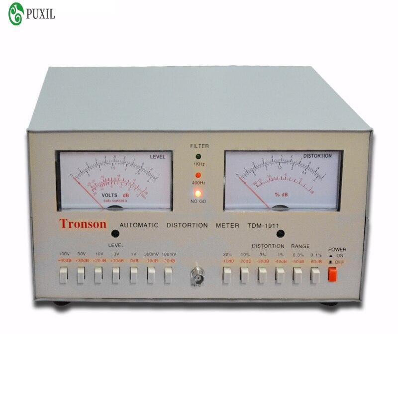 TDM-1911 Distortion Meter Automatic Distortion Meter 0.01% -30% Audio Distortion Meter