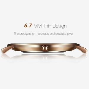Image 4 - GEEKTHINK Top Brand di Lusso della vigilanza Del Quarzo degli uomini di Affari Casual Nero Del quarzo del Giappone della vigilanza del cuoio genuino ultra sottile orologio maschile nuovo