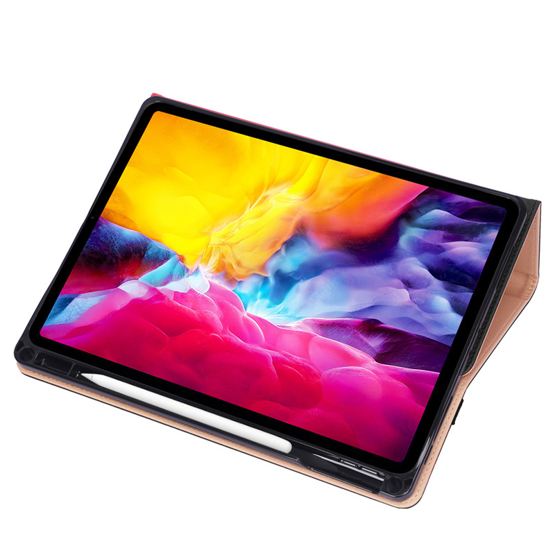 Case For 2020 11 iPad Pro 11 Case Luxury PU Leather Flip Cover with Pencil Holder