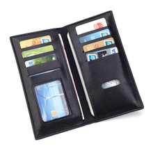 New Men Wallet Casual Long Section PU Wallet Business Clutch Bag Men Coin Purse Large Capacity Card Package feidikabolo boutique men s clutch bag new fashion personality large capacity business bag casual wild mobile phone coin purse