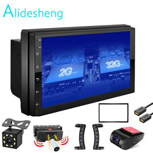 Android GO 2 Din 2G+ROM32G Car radio Multimedia Video Player Universal auto Stereo GPS MAP For Nissan Hyundai Kia toyota rav4(China)