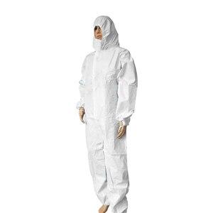 Image 2 - גבוהה אנטיבקטריאלי לשימוש חוזר בידוד חליפת למנוע פלישה של צוות מגן בגדי אבק הוכחה סרבל בתמיסה
