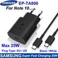 Original Samsung S20 5G 25W Ladegerät Surper Schnelle Ladung USB Typ C Pd PPS Schnelle Lade Für Galaxy hinweis 20 Ultra Hinweis 10 S21