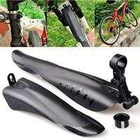 Alta qualidade conjunto de pára lamas da bicicleta fender mountain bike fender asas para frente/traseiro pára choques Para-lamas     -