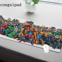 The Marvel Universe Mouse pad High-end pad to Mouse Notbook Computer Mousepad Ga