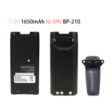 1650mAh Replacement Two-Way Radio Battery BP-209 BP-210 BP-222 BP-209N BP-210N BP-222N for ICOM Radios IC-F11 IC-F21 IC-V8