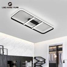 Lustres Led Chandelier 110v 220v Black Modern Led Chandelier Lighting for Living room Bedroom Dining room Kitchen Luminaires
