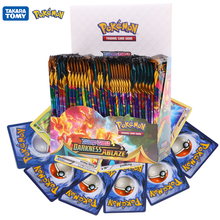 324Pcs Pokemon Cards TCG:Sword&Shield Sun&Moon Darkness Ablaze English Trading Card Game Booster Box Collectible Kid Toys Gift