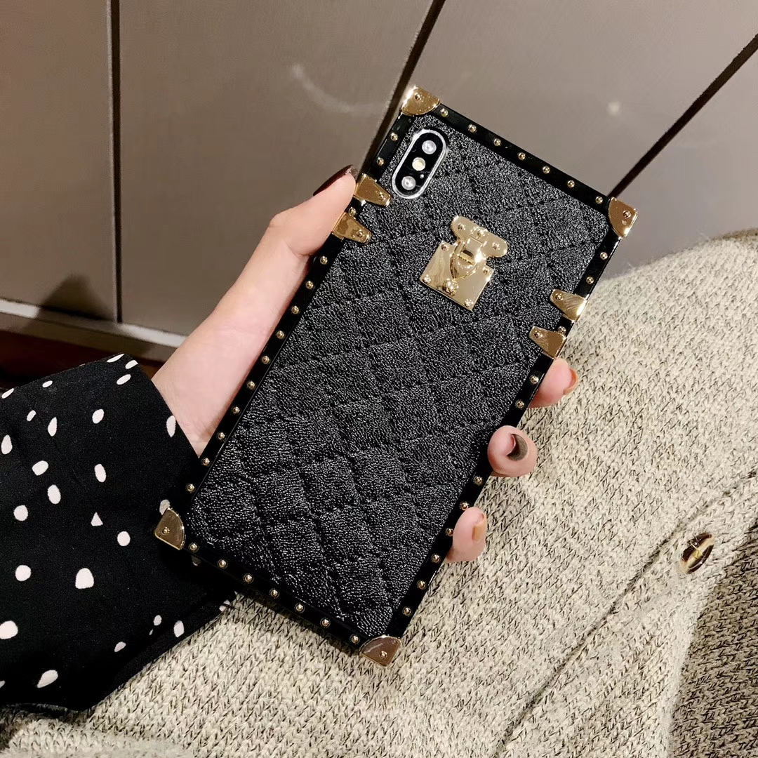 Soft Lambskin PU Leather Cases For iPhone 11 Pro X XR XS Max 8 7 Plus Innrech Market.com
