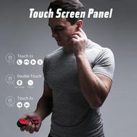 HAVIT TWS Bluetooth Earphone Wireless Sport Earphone IPX6 Touch Screen Panel Earbuds With Microphone for Bilateral call G1pro