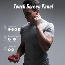 HAVIT TWS Bluetooth Earphone Wireless Sport IPX6 Touch Screen Panel Earbuds With Microphone for Bilateral call G1pro