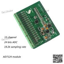 Ad7124 ad7124 moduł 24 bit ADC moduł ad przetwornik o wysokiej precyzji akwizycji danych karta do przechowywania w Części do oczyszczaczy powietrza od AGD na