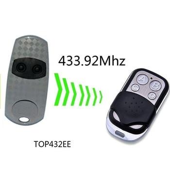 TOP432EE / TOP434EE puerta de garaje/Reemplazo de Control remoto de puerta/duplicador 433mhz fixe cdoe SJQ088A