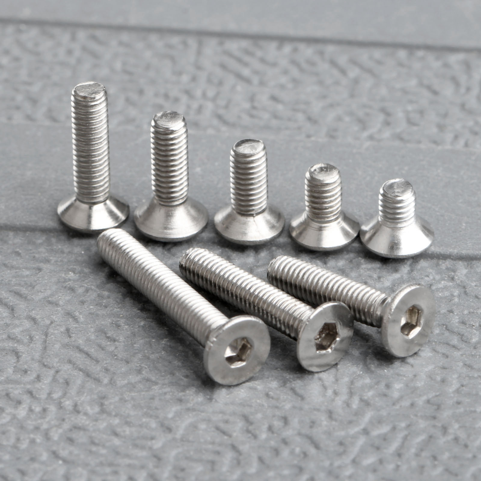 100Pcs M3 Stainless Steel Screws Pan Hex Socket Head Cap Screw Furniture Fastener Bolt <font><b>M3x5mm</b></font>/6mm/8mm/10mm/12mm/14mm/16mm/20mm image