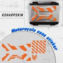 GS motosiklet alüminyum kutu yan dekorasyon evrensel etiketler çıkartmaları BMW R1250GSA R1200 GSA F850 GSA F 750GSA F700GSA