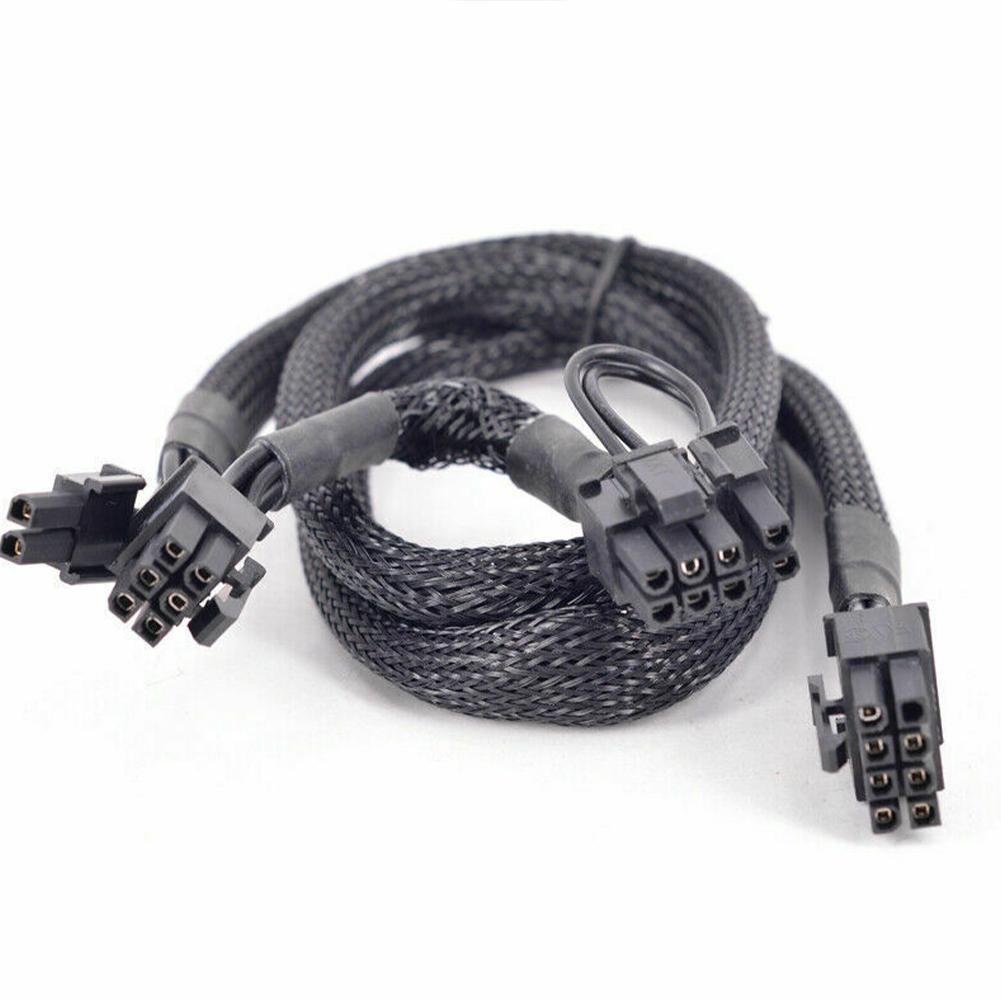 PCIe 8pin до 2 Порты 6 2Pin Мощность поставить кабельная муфта для Seasonic FOCUS PLUS Platinum серии PX 850 750 650 550 W