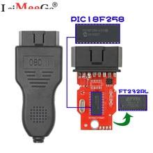 Cabo diagnóstico do carro obd2 vag pode comandante 5.5 + leitor de pinos 3.9beta com ftdi ft232rl pic18f258 obdii scanner para V-W/audi/skoda