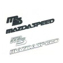 Автомобильный Стикеры MS MazdaSpeed эмблема наклейка Стикеры логотип для Mazda 2 3 5 6 CX-5 CX-7 323 Axela Atenza эмблема автоматическое изменение значок кузова